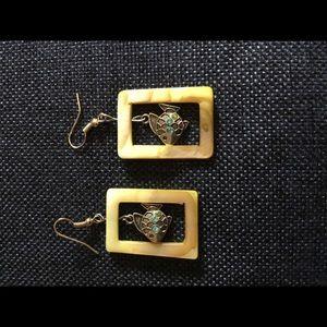 Handmade fish earrings